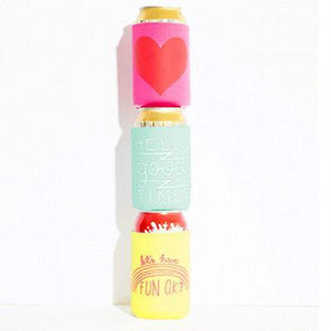 """Hello Good Times"" Drink Sleeve - Petals and Postings"