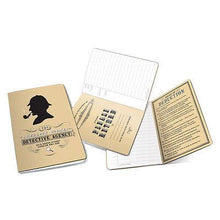 Load image into Gallery viewer, Home & Office-Sherlock Holmes Notebook - Unemployed Philosopher's Guild - Pocket Size - Petals and Postings