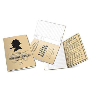 Home & Office-Sherlock Holmes Notebook - Unemployed Philosopher's Guild - Pocket Size - Petals and Postings