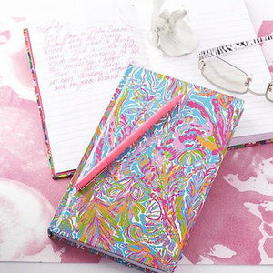 Lilly Pulitzer Scuba to Cuba Hardcover Journal - Petals and Postings