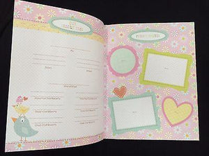 Happy Girl Baby Book - Petals and Postings