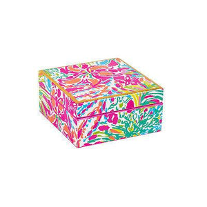 Lilly Pulitzer Spot Ya Small Lacquer Box - Petals and Postings