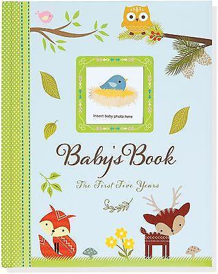 Infants-Baby's Book - The First Five Years - Peter Pauper Press - Petals and Postings