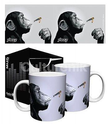Drinkware-Monkey Joint - 11 oz Mug - Classico San Francisco - Petals and Postings