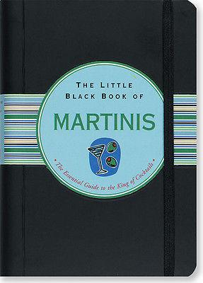 Peter Pauper Press - The Little Black Book of Martinis - Petals and Postings
