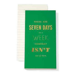 Kate Spade Seven Days a Week Notepad - Petals and Postings