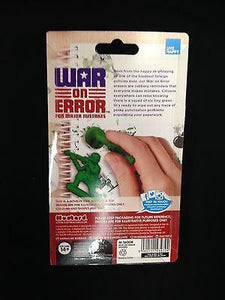 Home & Office-War on Error Erasers from Mustard - Petals and Postings