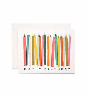 Rifle Paper Co. Assorted Birthday Card Boxed Set - Petals and Postings