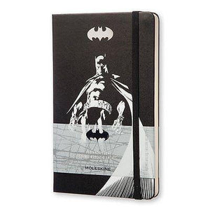 "Moleskine - Limited Edition Batman 5""x 8.25"" Plain Notebook - Petals and Postings"