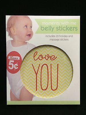 Moments With Me Belly Stickers - Petals and Postings
