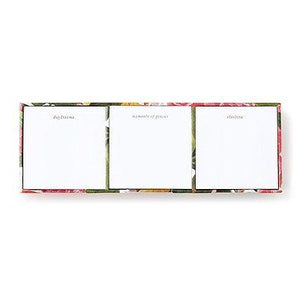 "Kate Spade - Sticky Note Set -  ""Floral"" - Brighten your office! - Petals and Postings"