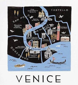 Rifle Paper Co. Venice Art Print - Petals and Postings