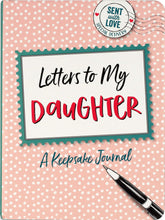 Load image into Gallery viewer, Peter Pauper Press, Letters to My Daughter, A Keepsake Journal