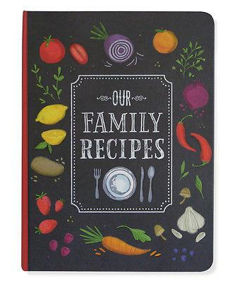 Peter Pauper Press - Our Family Recipes - Petals and Postings