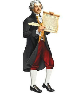 Unemployed Philosophers Guild- Thomas Jefferson -Quotable Notable Blank Card - Petals and Postings
