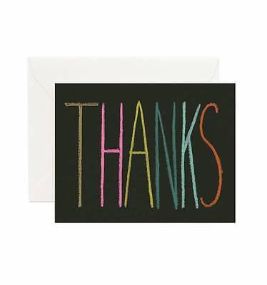 Rifle Paper Co. Crayon Thank You Cards Set - Petals and Postings