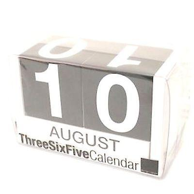 Perpetual Calendar - Fog - Design Ideas Three Six Five - Petals and Postings