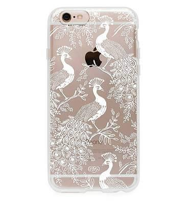 Rifle Paper Co. iPhone 6 / 6s Plus Peacock  Hard Shell Case - Petals and Postings