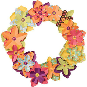Paper Source Blooming Wreath