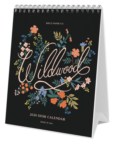Rifle Paper Co. Wildwood 2020 Desk Calendar