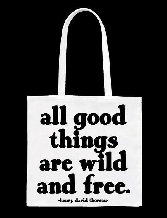 Quotable All Good Things Tote Bag