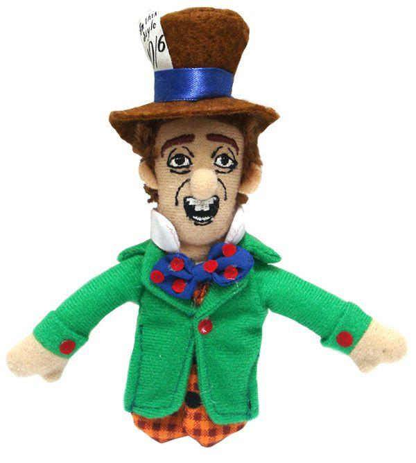 Mad Hatter Finger Puppet and Fridge Magnet