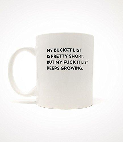 Sapling Press My Bucket List Ceramic Mug