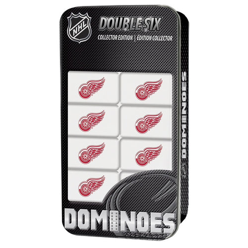 Detroit Red Wings Double Six Dominoes