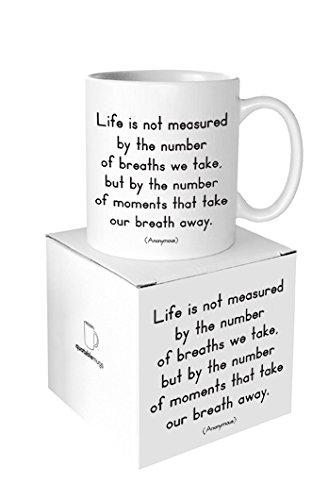 Quotable Life Measured Ceramic Mug