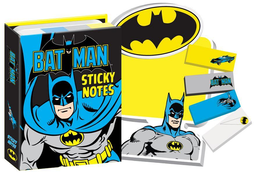 Bat Man Sticky Note