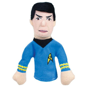 Spock Finger Puppet and Fridge Magnet