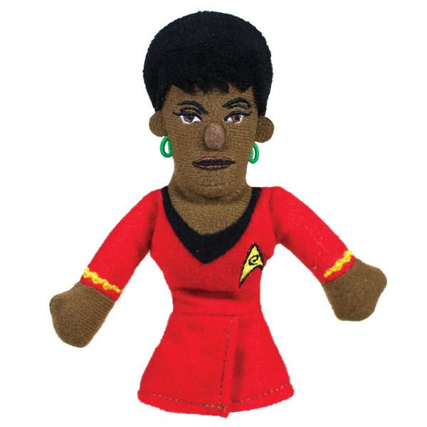 Uhura Finger Puppet and Fridge Magnet