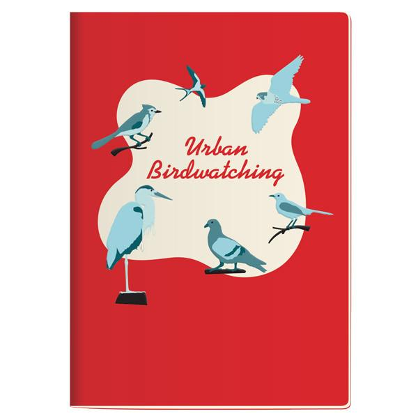 Urban Birdwatching Pocket Notebook