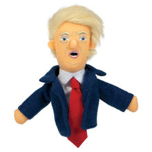 Load image into Gallery viewer, Best Comrades Trump and Putin Finger Puppet and Fridge Magnet Set