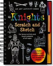 Load image into Gallery viewer, Peter Pauper Press - Knights Scratch and Sketch