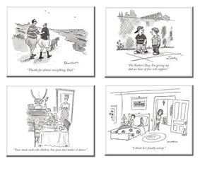 The Cartoon Bank The New Yorker Dads Quicknotes