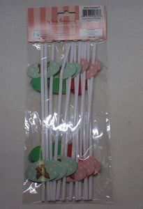 Party Partners Holiday Straws Reindeer