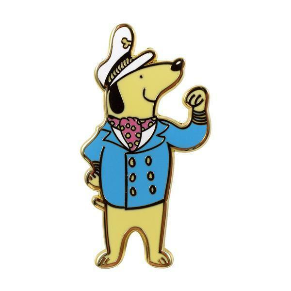 Valley Cruise Press Captain Pup Pin