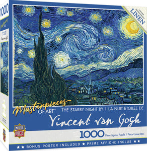 The Starry Night 1000 Piece Jigsaw Puzzle