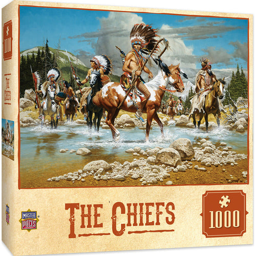 The Chiefs 1000 Piece Jigsaw Puzzle