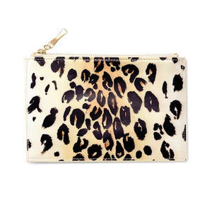 Kate Spade Leopard Pencil Pouch Set - Petals and Postings