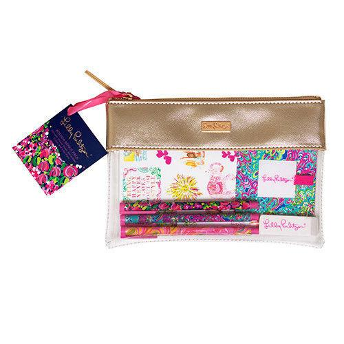 Lilly Pulitzer Agenda Bonus Pack Desk Accessories - Petals and Postings