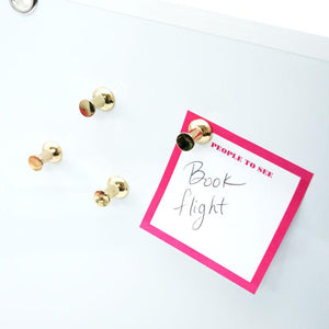 Kate Spade  Push Pin Magnets - Petals and Postings