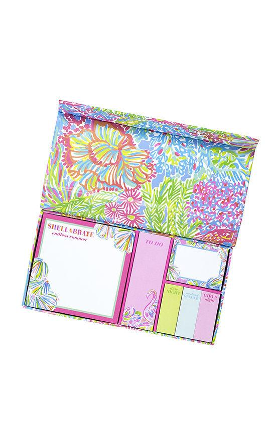 Sticky Note Set - Lover's Coral - Petals and Postings