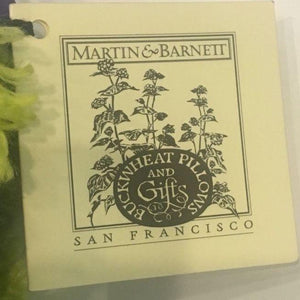 Totebags-Retro Martin & Barnett purse - green velvet flower design - Petals and Postings