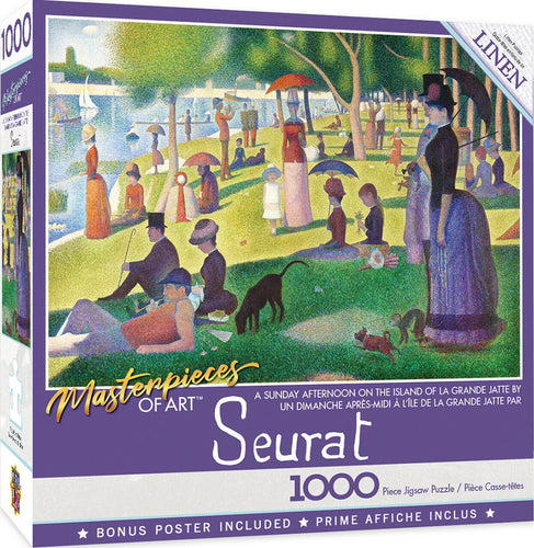 A Sunday Afternoon by Seurat 1000 Piece Jigsaw Puzzle