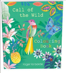 Roger La Borde - Coloring Book - Call of the Wild - Petals and Postings