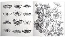 Load image into Gallery viewer, Roger La Borde - Coloring Book - Vintage Illustrations - Petals and Postings