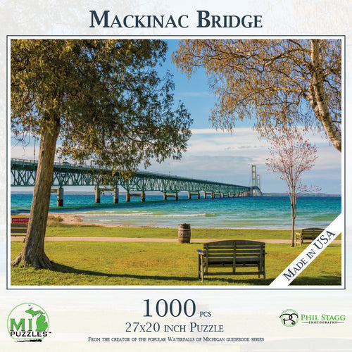 Mackinac Bridge 1000 Piece Puzzle
