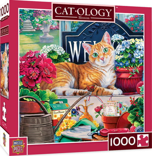 Cat-Ology Blossom 1000 Piece Jigsaw Puzzle